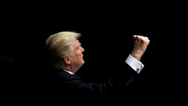 Designierter US-Präsident Donald Trump will die westliche Welt spalten....