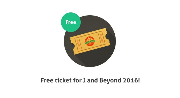 #Free ticket for J and Beyond 2016! We have one ticket left! Do you want to participate in this greatest #Joomla #event this year? If you like Joomla-Monster or DJ-Extensions and will be in Barcelona this weekend, let us know! #jandbeyond #jab16