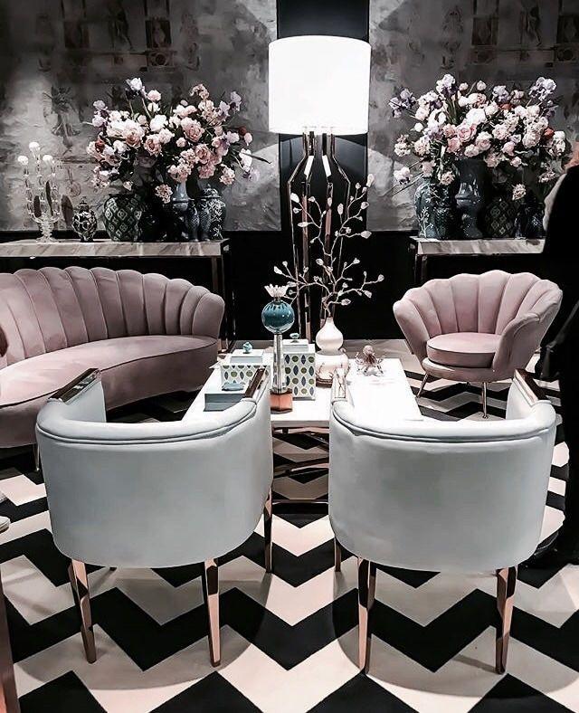 So schick, aber mit Art-Deco-Flair im ganzen Wohnzimmer –  – #badezimmerideen  # badezimmer ideen | Todaypin.com