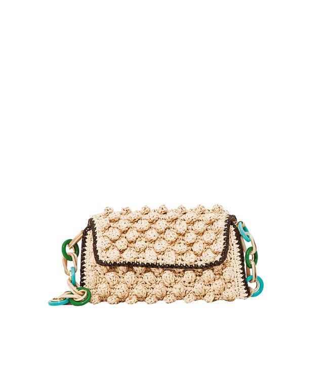 #MMissoni Accessories | Knitted Raffia Chain Bag | Summer 2013 Collection
