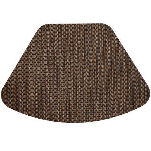 Driftwood (Black & Tan) Wipeable Wedge-Shaped Placemat for Round Tables Sweet Pea Linens http://smile.amazon.com/dp/B002TENEAI/ref=cm_sw_r_pi_dp_wn4cub0DT8CM3