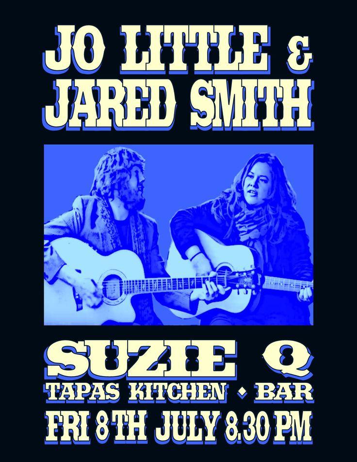 Jo Little & Jared Smith@Suzie Q - Invercargill, NZ - 2016
