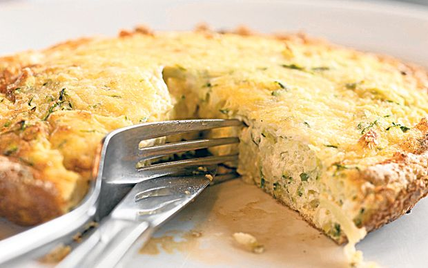 There is an art to making a perfect frittata – it needs a bit of wobble in the   middle so it is satisfyingly soft, and not mixing the eggs too much helps,   too.