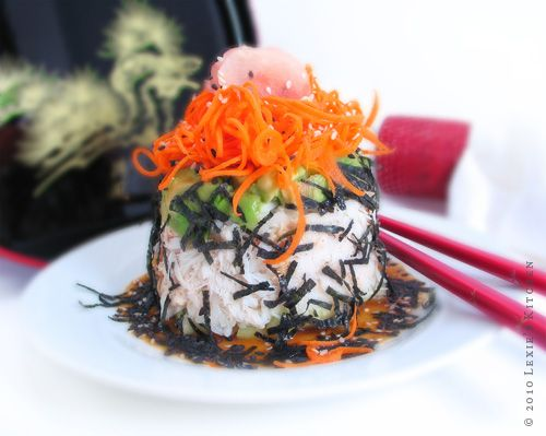 Inside Out California Roll - Lexie's Kitchen | Gluten-Free Dairy-Free Egg-Free -