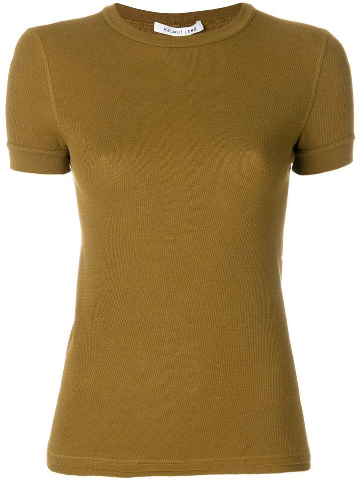 Helmut Lang plain T-shirt