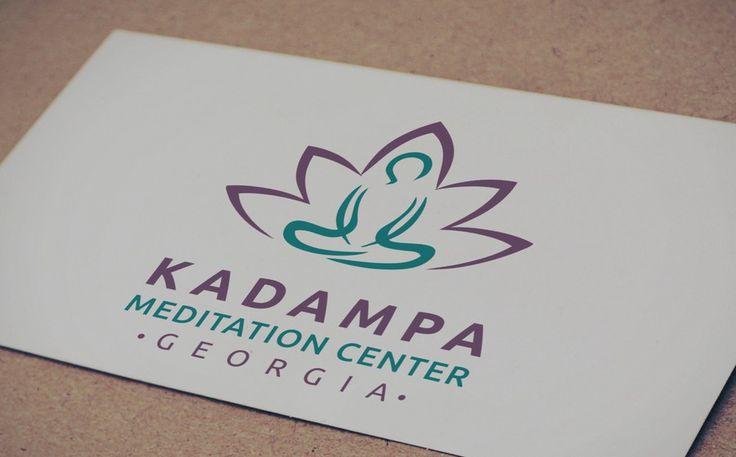 New hip logo for a non profit meditation center by dmatas