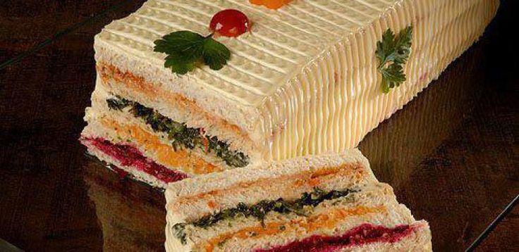 Dica para você: Receita de torta gelada de p?o salgado. Compartilhe com amigos!