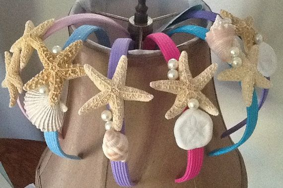 Gifts from the Sea Mermaid Headbands for by SagamoreBeachMermaid, $14.00