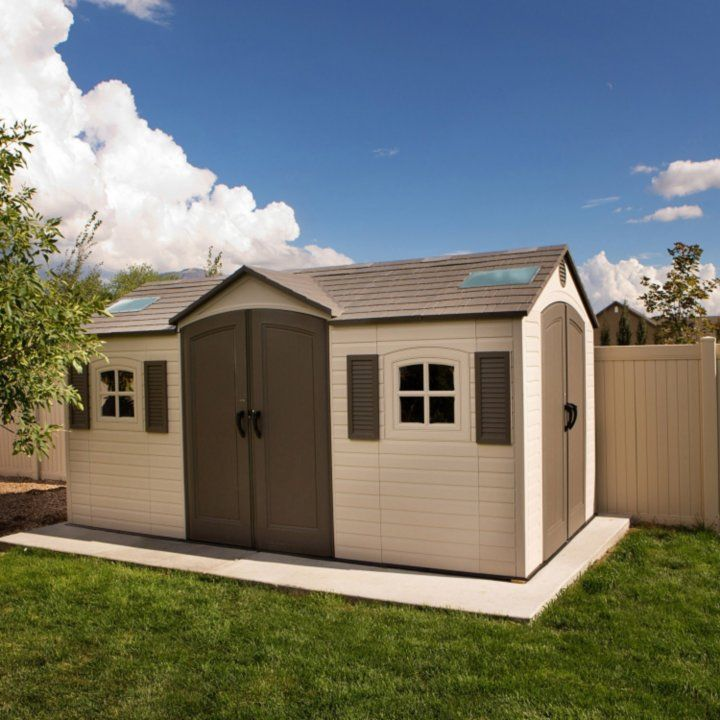 Lifetime 8' x 17.5' Storage Shed (Dual Entry) - Sam's Club