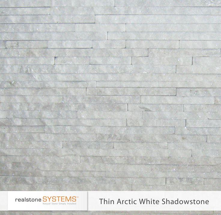 Thin Arctic White Shadowstone Thinstone Veneers From