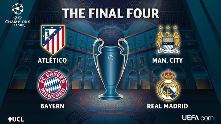 Semifinales de Champions League 2016; horarios y en qué canales ver los partidos - https://webadictos.com/2016/04/25/semifinales-champions-league-2016/?utm_source=PN&utm_medium=Pinterest&utm_campaign=PN%2Bposts