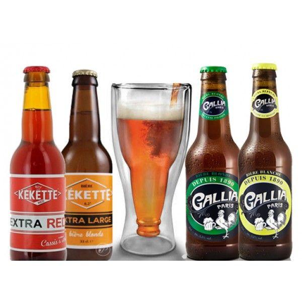 Set de Dégustation de Bières Artisanales et Insolites