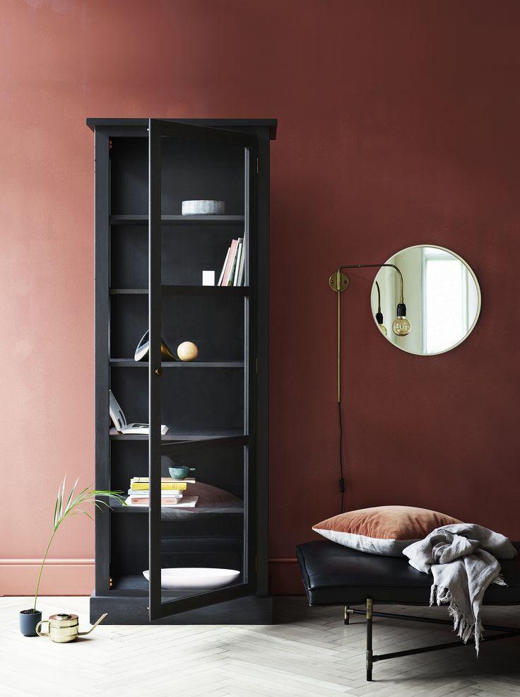 Lindebjerg Design's wonderful darling - DARK OAK, hinges of brass - nordic feeling :-)