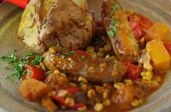 Slow cooked sausage casserole recipe - goodtoknow