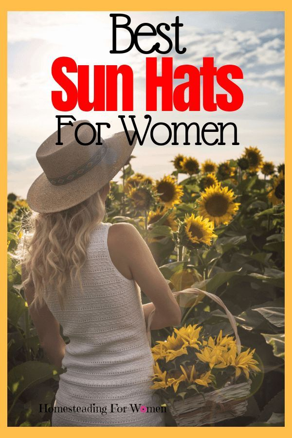 Best Sun Hats For Gardening And Summer Fun Gardening For