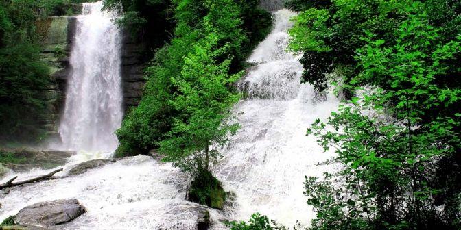 Waterfalls in Upstate South Carolina   Waterfall Hikes of Upstate South Carolina - program and book-signing ...