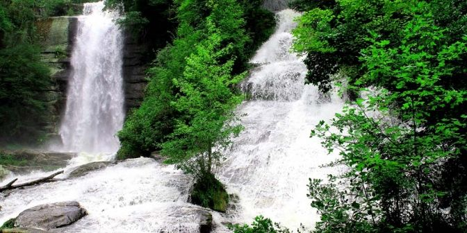 Waterfalls in Upstate South Carolina | Waterfall Hikes of Upstate South Carolina - program and book-signing ...