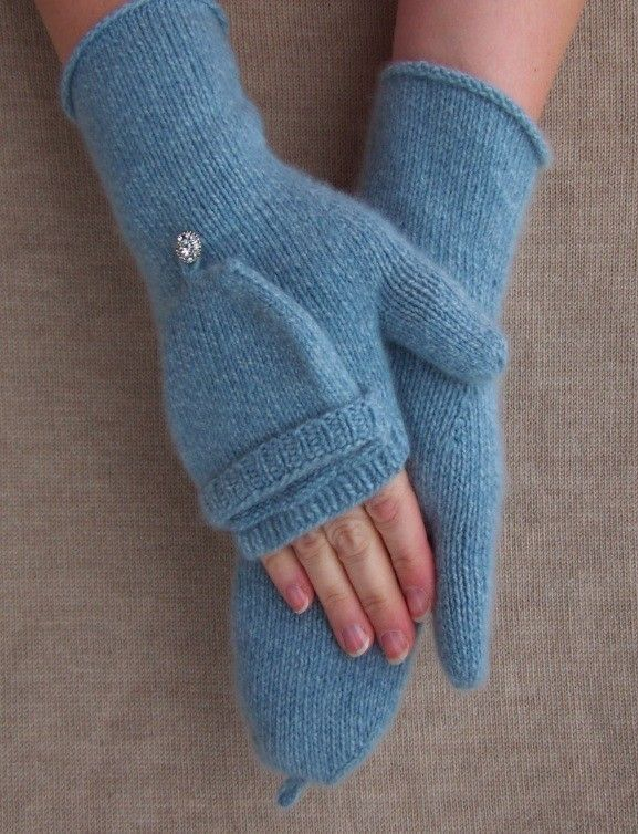 Knitting Pattern For Fingerless Mittens Gloves : Fingerless Glove- Knitting Pattern Knitting projects Pinterest