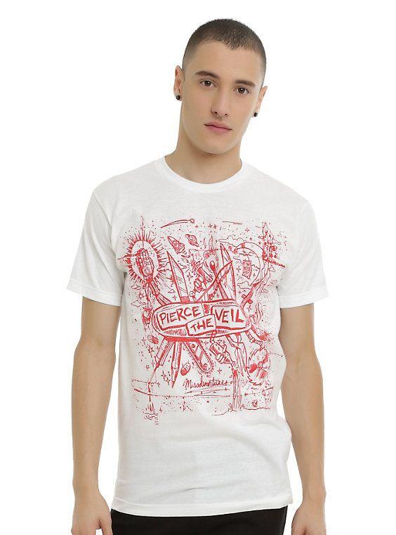 Pierce The Veil Misadventures Cover T-Shirt