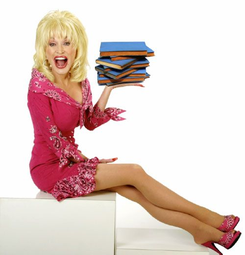 Dolly Parton cares about kids and reading (and rhinestones, pie, and eagles). She's the best.