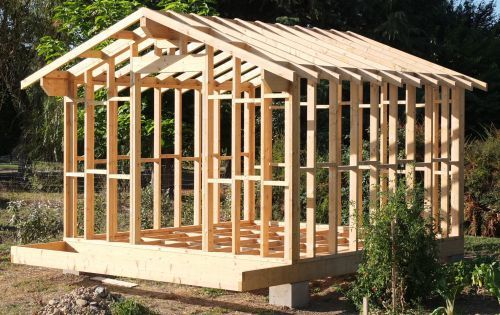 7 best cabane images on Pinterest Gardens, Pinterest pallets and - construire un cabanon de jardin en bois