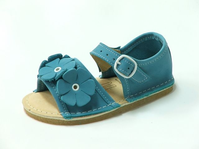 Bear Feet Turquoise Flower Power Sandals Pre Order $79.50 http://www.meandmyfeet.com/product/BFTURSFP #Bear #feet #Turquoise #Flower #Sandals #Girls #Kids #Child #Shoes