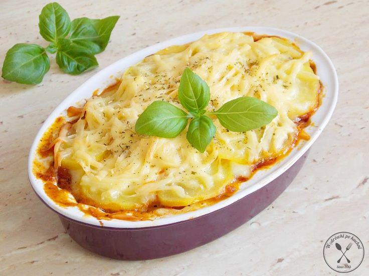 Zapiekanka ziemniaczana à la lazagne | Wędrówki po kuchni