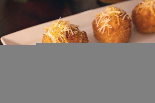 Deep Fried Macaroni and Cheese Balls