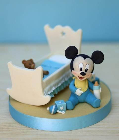 Baby Mickey Mouse Cake - Cake by Cesare Corsini