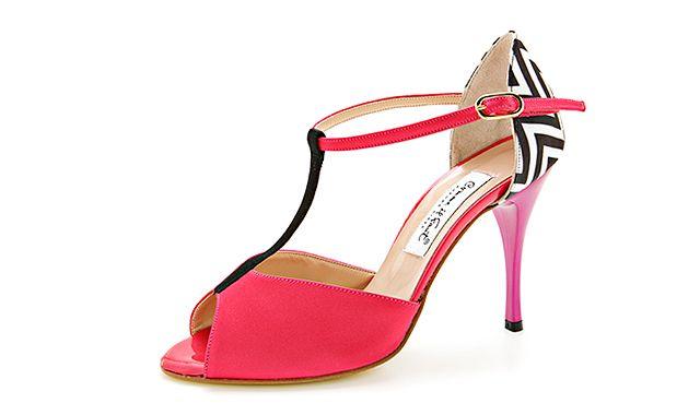 Sandale roz Comme Il Fault