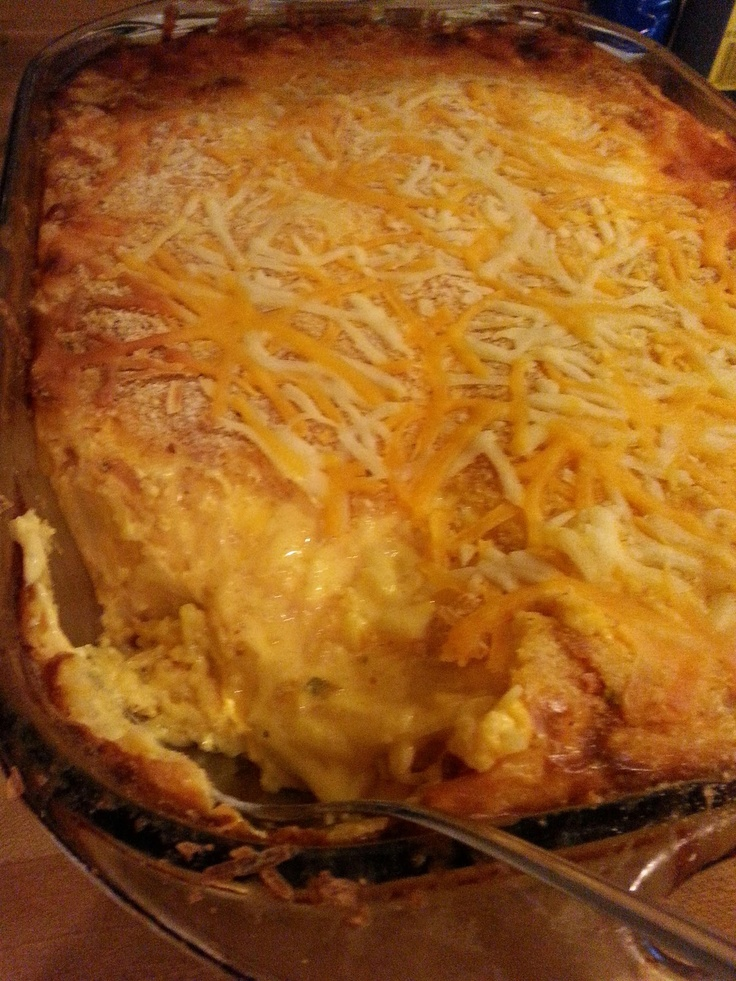 A Poor Mom's Guide to Country Living: Cheesy Hashbrown Bake