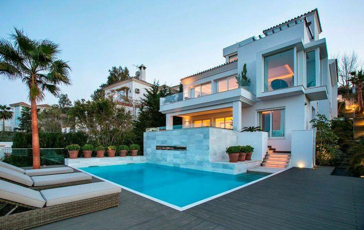 Reconstruction of villa at La Cala by Rodolfo Jacobson, Marbella, Spain