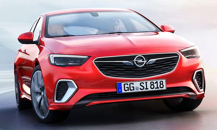 Mit dem Opel Insignia GSi zeigen die Rüsselsheimer die Vorstufe zum OPC. Sportliche Anbauteile, 20-Zoll-Felgen und mehr gibt's auf der IAA 2017 zu sehen!