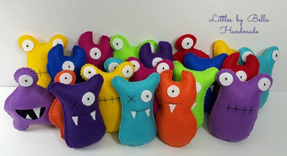 Adopt a monster party station favors turbo fast by littlesbyBella