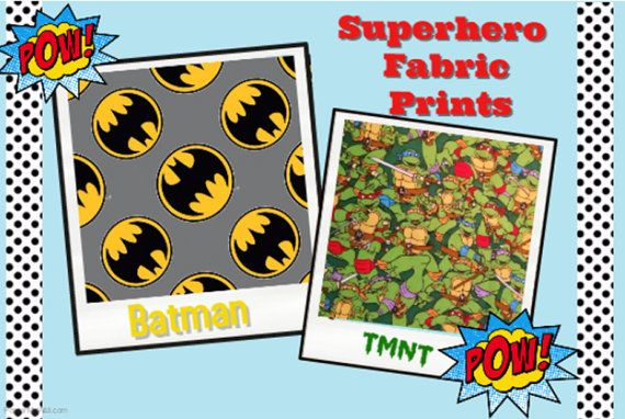 Design Your Own Superhero Changing Pad by HappyNestByDieulove