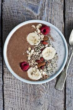 Wholesome Vanilla Chia Breakfast Smoothie Recipe   Recipes   PRANA