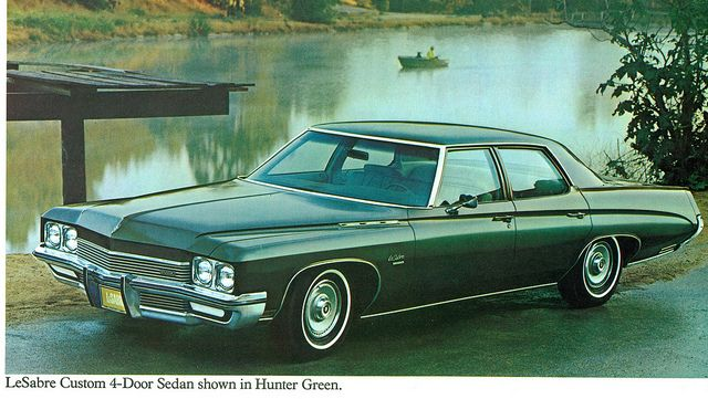 1972 Buick LeSabre Custom 4-Door Sedan