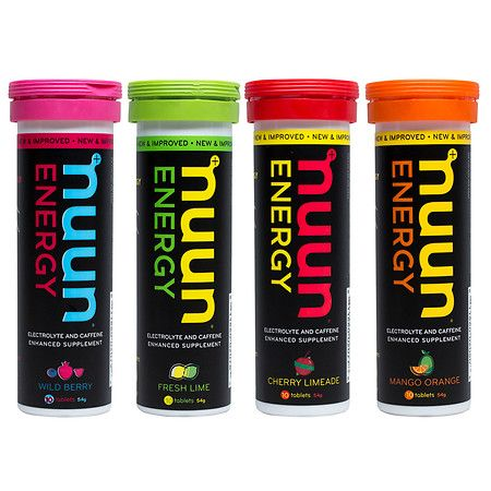 nuun Hydrating Electrolyte Tablet Variety Pack