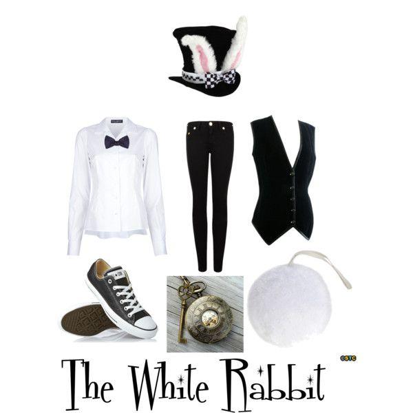 Disfraz del conejo blanco by measishouldbe