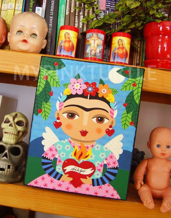 44 Best My FRIDA KAHLO Paintings Images On Pinterest