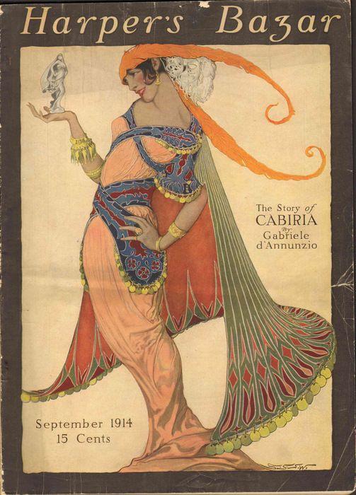 Harper's Bazar September 1914