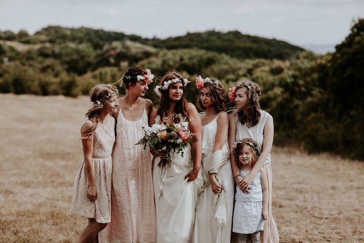 blush briedesmaid dresses