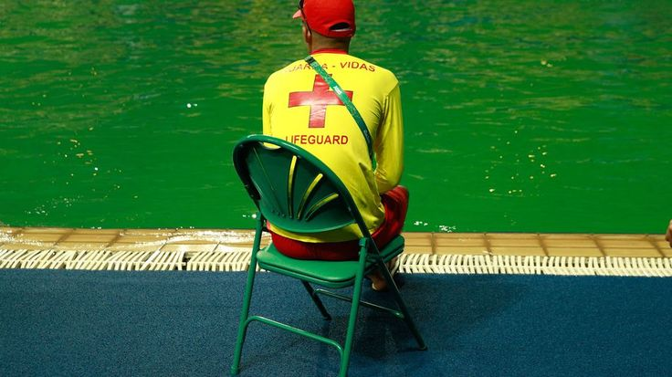 The diving pool at the Olympics has  mysteriously turned greenRIO DE JANEIRO BRAZIL - AUGUST 09: A lifeguard sits by the edge of the diving pool at Maria Lenk Aquatics Centre on Day 4 of the Rio 2016 Olympic Games at Maria Lenk Aquatics Centre on August 9 2016 in Rio de Janeiro Brazil. (Photo by Adam Pretty/Getty Images)  Image: Getty Images  By Brian Koerber2016-08-09 22:41:03 UTC  Many people highlighted the problems with the water outdoors in Rio leading up to the 2016 Summer Olympics…