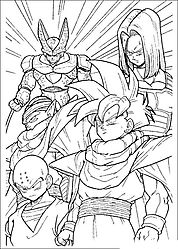 Dragon Ball Z Coloring Pages And Drawing Pictures
