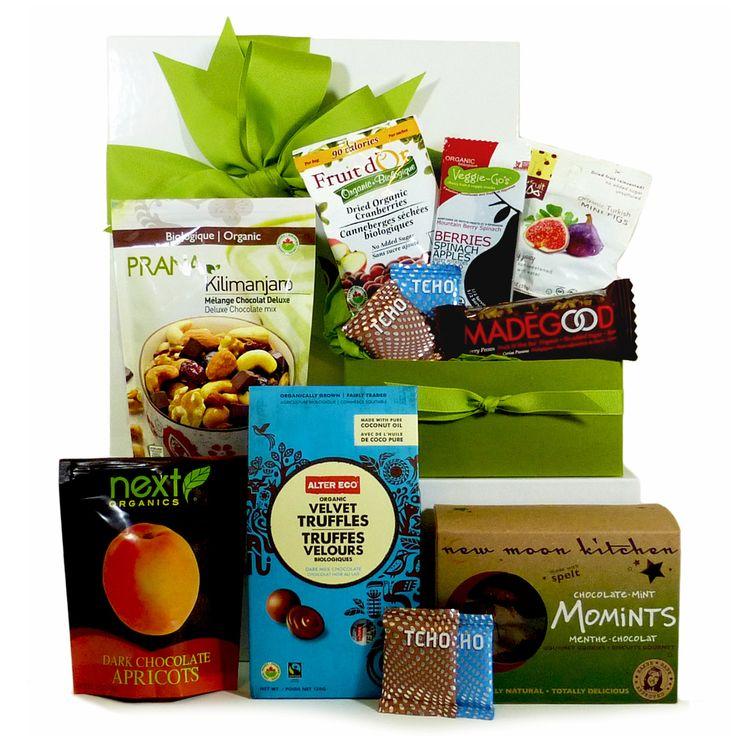 Organic Chocolate Gift Basket.