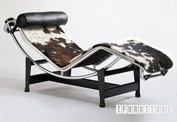 LC4 Chaise Lounge *Italian Leather or Pony Skin , Replica Reproduction, NZ's Largest Furniture Range with Guaranteed Lowest Prices: Bedroom Furniture, Sofa, Couch, Lounge suite, Dining Table and Chairs, Office, Commercial & Hospitality Furniturte