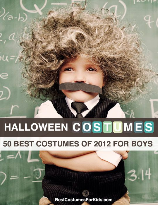 50 Best Halloween Costumes of 2012 for Boys.