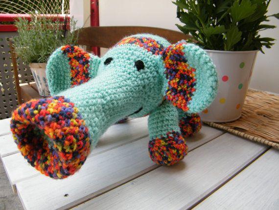 Niedlicher Elefant von EmiliaDesign1 auf Etsy