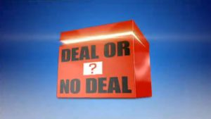 Use these templates to play Deal Or No Deal in lessons