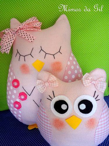 Corujinhas para decoração de festa infantil tema Corujas | Flickr ...